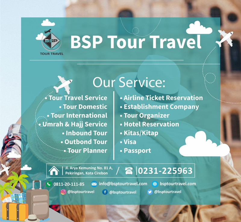BSP tour and travel