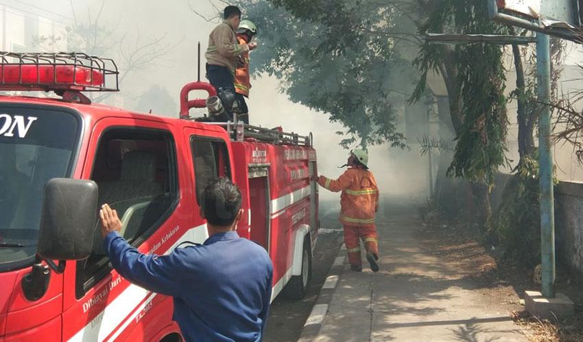 Api Tungku Dapur Merembet, Rumah Ludes Terbakar