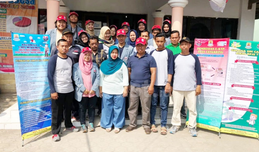 KKN Mahasiswa UPI Desa Cangkring Cirebon Dorong Program Indonesia Melayani, Bersih, dan Mandiri