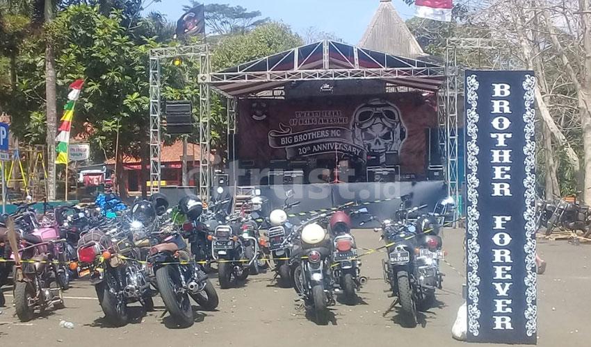 Universary Big Brothers MC Kuningan Ke-20, Eratkan Persaudaraan Sesama Biker