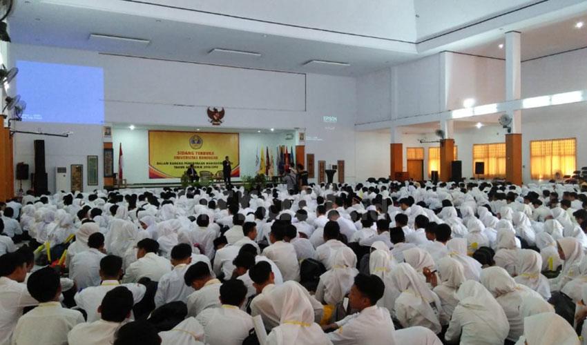 Sebanyak 1.319 Mahasiswa Uniku Ikuti PKKMB