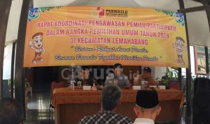 Bawaslu Kabupaten Cirebon Peringatkan Kuwu Untuk Tidak Ikut Kampanye