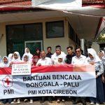 PMI Kota Cirebon Galang Dana untuk Korban Gempa dan Tsunami di Sulawesi Tengah