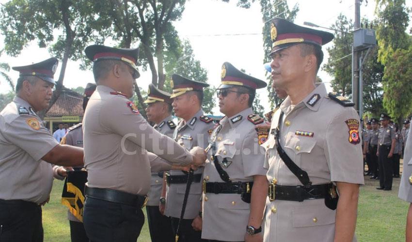 Beberapa Perwira Tinggi Polres Kuningan Diganti