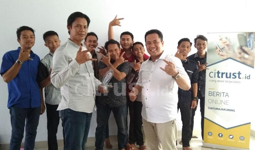 PPL di Citrust.id Membuat Mahasiswa KPI IAIN SNJ Cirebon Berkesan