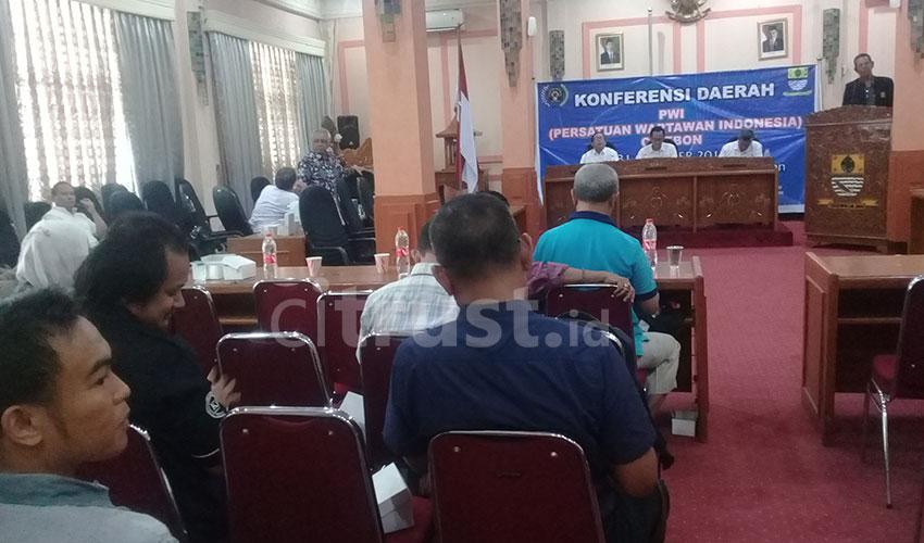 PWI Cirebon Gelar Konferda dan Pemilihan Ketua PWI Tahun 2018