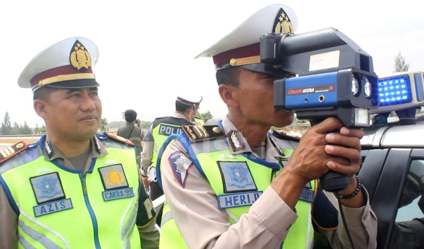 Tekan Kecelakaan di Tol Cipali, PJR Polda Jabar Razia Batas Kecepatan
