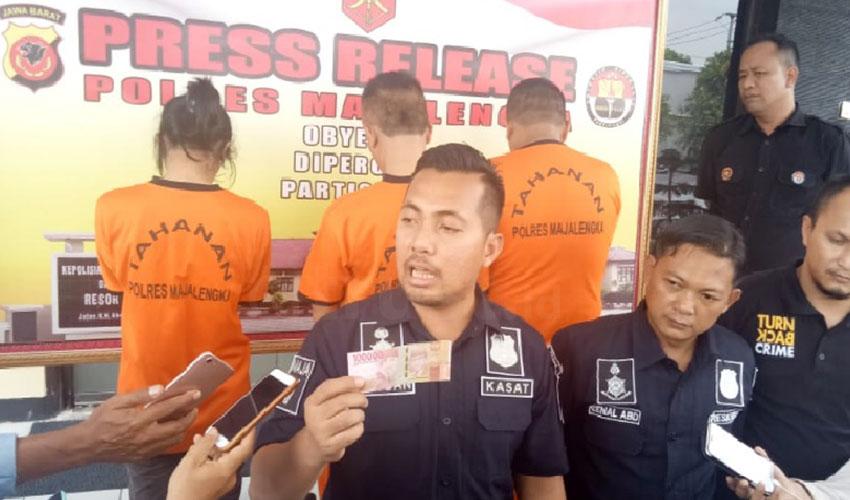Edarkan Uang Palsu, Warga Tangsel Ditangkap di Majalengka