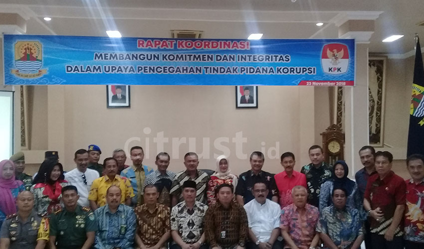 Manajemen ASN Rendah, KPK Jadikan Kabupaten Cirebon 8 Titik Fokus Pencegahan Korupsi