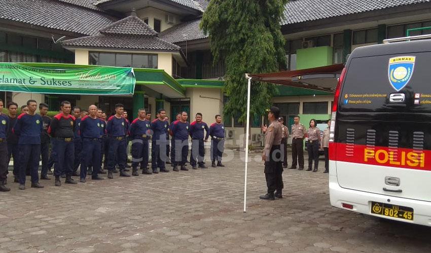 Bin Polmas Polres Ciko Latih 40 Personel Satpam Perguruan Tinggi Wilayah Kota Cirebon