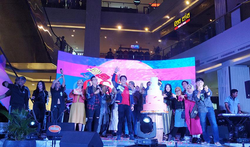 Puncak Perayaan HUT ke-7 CSB Mall Berlangsung Semarak