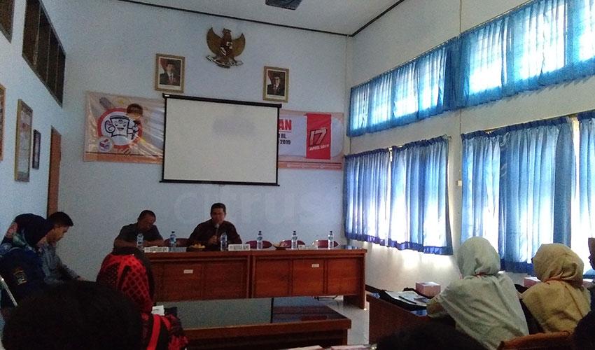 Puluhan Peserta Antusias Mengikuti Kursus Tentang Pemilu di KPU Kabupaten Majalengka
