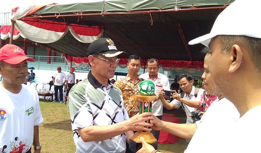 Bupati Majalengka Buka Turnamen Gala Desa Tingkat Kabupaten Majalengka