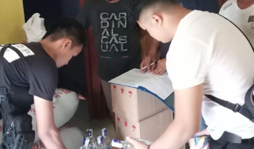 Jelang Natal Dan Tahun Baru, Sat Narkoba Polres Majalengka Sita Ratusan Botol Miras