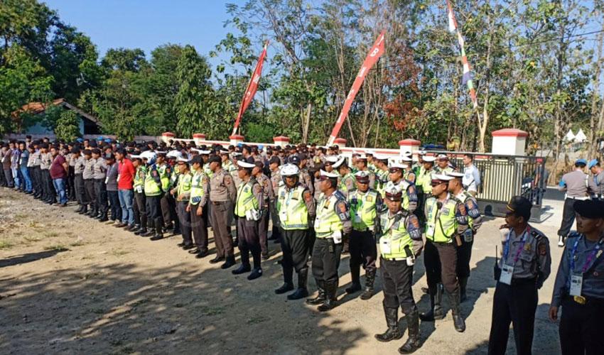 Gelar Operasi Intelejen, Polres Majalengka Perketat Pengamanan Venue Asian Games
