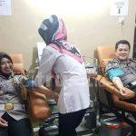 Peringati Hari Polantas, Satlantas Polres Majalengka Gelar Donor Darah