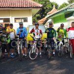 Sinergitas TNI-Polri Gelar Fun Bike Sambut HUT TNI Ke-73