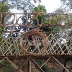 Dekorasi Serba Bambu, Jagakali Internasional Art Festival#7 Tampak Elegan