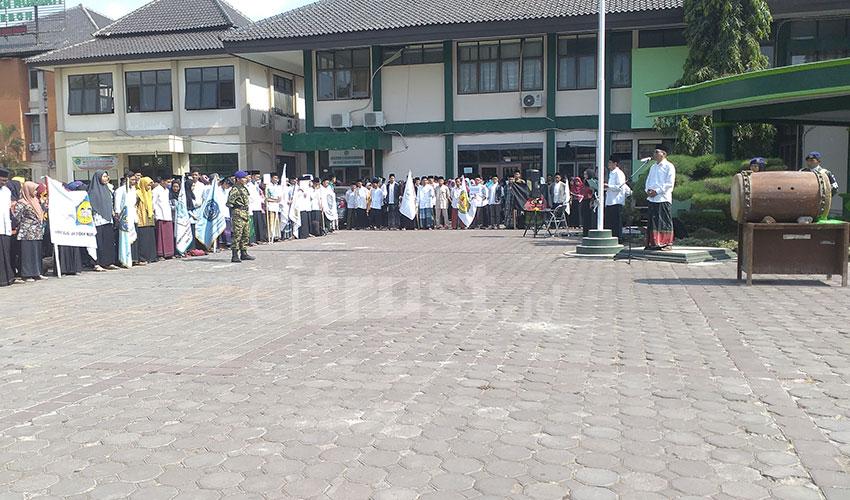 PKM IAIN Syekh Nurjati Cirebon Bertepatan dengan Hari Santri Nasional
