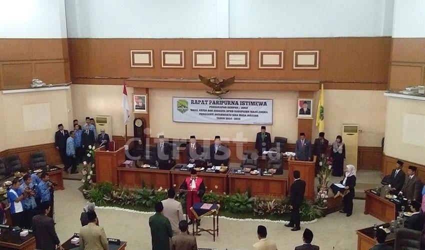 DPRD Majalengka Gelar Rapat Paripurna Istimewa PAW Wakil Ketua DPRD dan Anggota DPRD