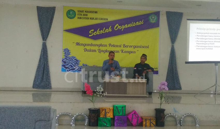 Bekali Ormawa Guna Taat Adiministrasi, Senat FITK Gelar Sekolah Organisasi