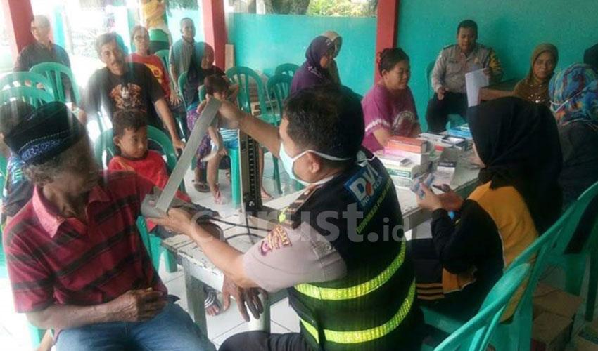 Dokkes Polres Majalengka Gelar Pelayanan Pengobatan Gratis