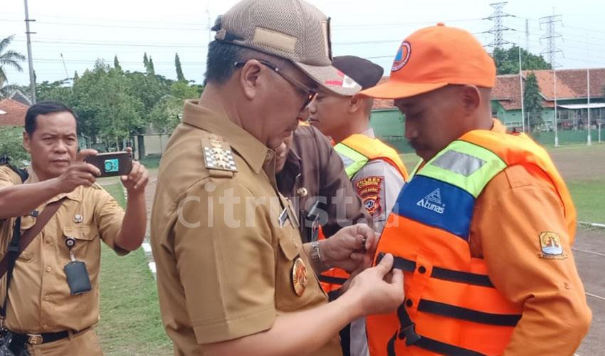 7 Titik Sungai di 3 Kecamatan Menjadi Fokus Normalisasi BPBD Kabupaten Cirebon