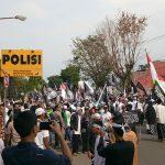 Kepung Mapolres Kuningan, Aliansi Ormas Islam Gelar Parade Tauhid